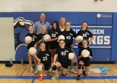 6th Grade Volleyball Team